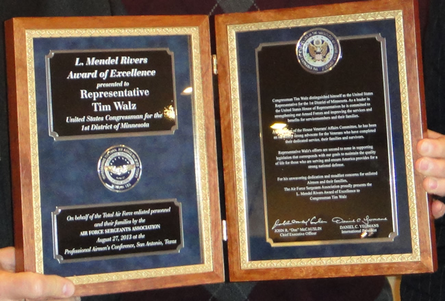 The L. Mendel Rivers Award of Excellence